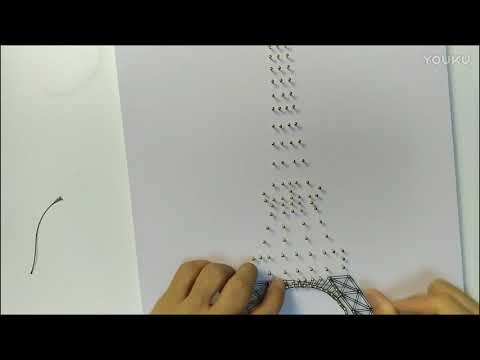 installation-tutorial-for-string-art-kit-(eiffel-tower)