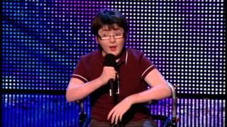 BRITAIN'S GOT TALENT 2013 - JACK CARROLL (COMEDIAN -14 YRS OLD)
