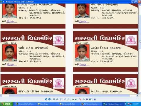Automatic ID Card Generator-Maker-Creator - YouTube