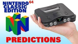 N64 Classic Edition Predictions
