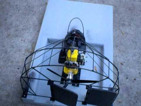 25cc homelite  RC stephull airboat