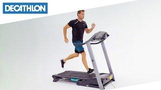 tapis roulant comfort run di domyos decathlon italia
