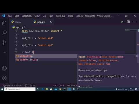 Python Convert Mp4 to Mp3 File Using MoviePy Library Full Project For Beginners