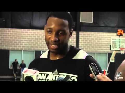 Tracy McGrady Interview With San Antonio Spurs Media