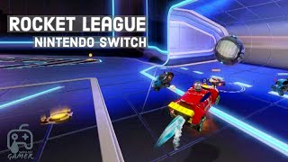 Rocket League Exhibition mode with new hotwheel car on Nintendo Switch