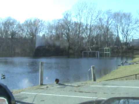 Taunton Catholic Middle School Flood