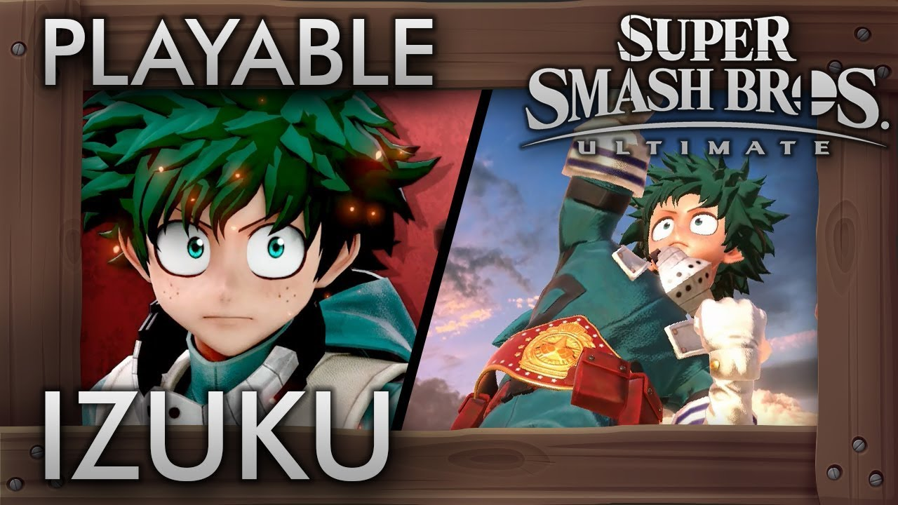 Izuku Midoriya Joins Super Smash Bros  Ultimate With New Mod
