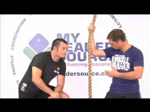 How to climb a Rope - J Hook Technique Video
