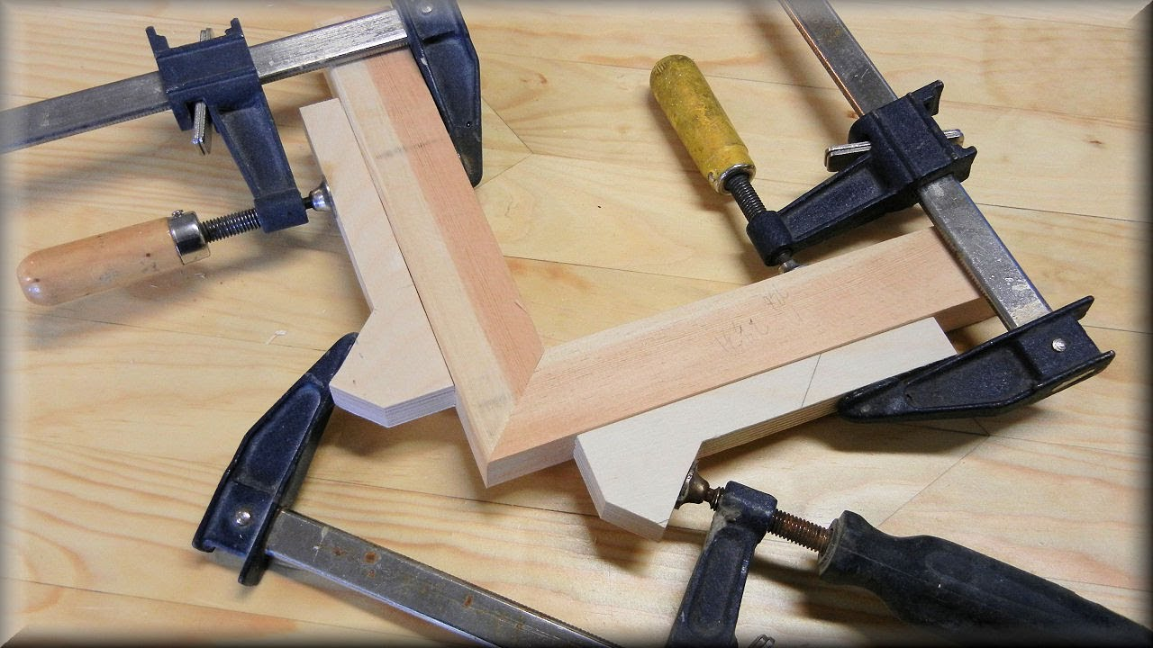 how to clamp miters