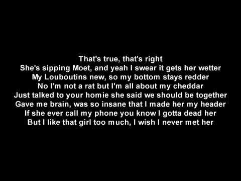Lil Uzi Vert - The Way Life Goes (LYRICS) (LUV IS RAGE 2)
