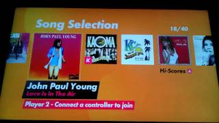 DanceStar Party Hits FULL LIST OF SONGS PS3