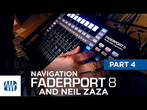 PreSonus—Neil Zaza on the Faderport 8 Part 4: Navigation