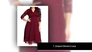✅Top 10 Best Plus Size Dresses For Women