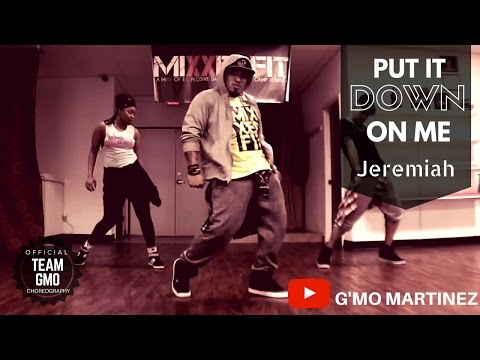 Put it down on me  Jeremiah ft #teamGMO, Jeremiah, Tamika
