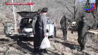В Дагестане охотоведы Минприроды организовали подкормку диких животных