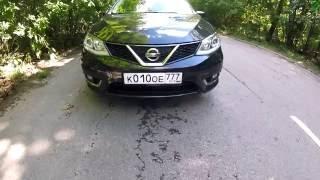 Nissan Tiida - Движение с комментариями (60p)