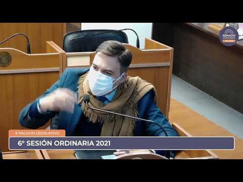 EN VIVO: Sexta Sesión Ordinaria 2021