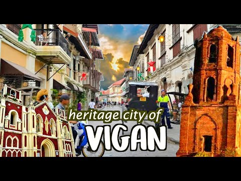 THINGS You DON'T Know About VIGAN | TRAVEL back to SPANISH ERA!