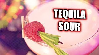 HOW TO MAKE A TEQUILA SOUR! (DANGEROUS RECIPE)