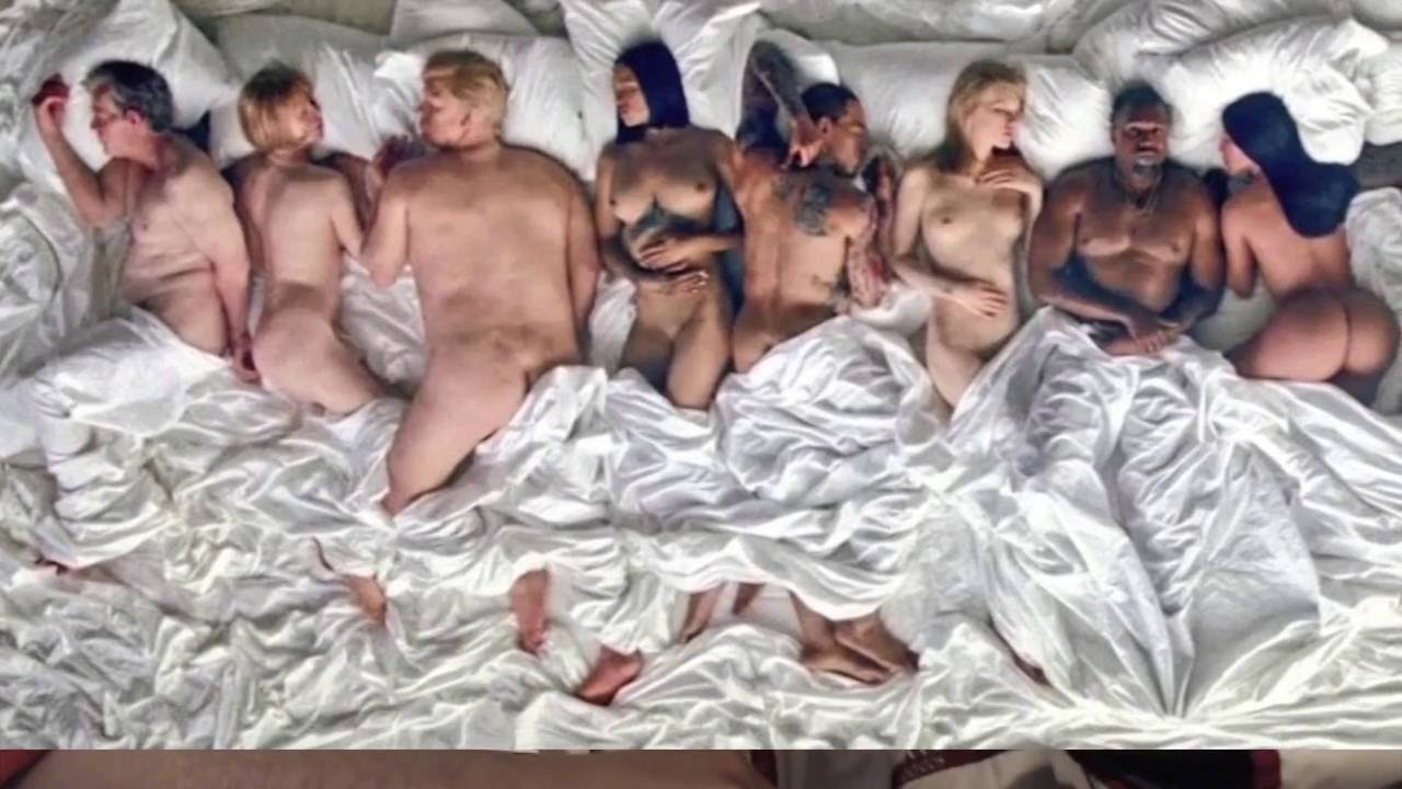 Kanye West Gets Naked With Taylor Swift, Kim K, Donald -6033