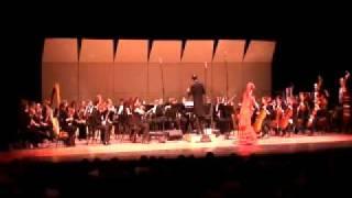 """""""Triana""""de I.Albeniz. Pepa Molina y la Orchesta synfonica Panamericana"""