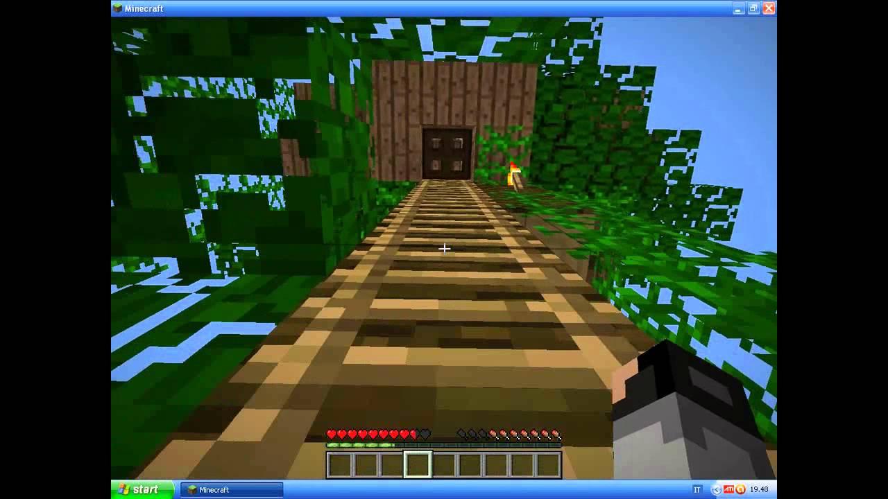 Minecraft come fare una casa sull 39 albero esempio youtube for Come finanziare una casa
