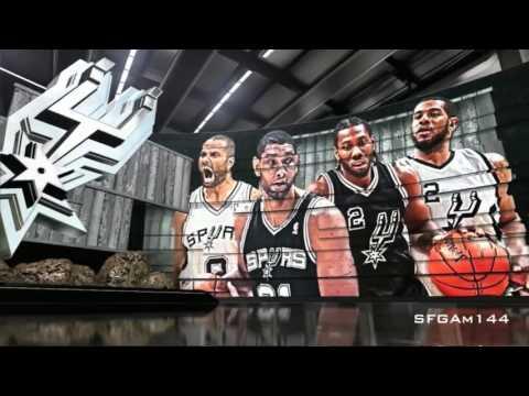 2016 NBA Playoffs Intro | SAS vs OKC |