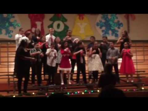 Isleton elementary school Christmas program