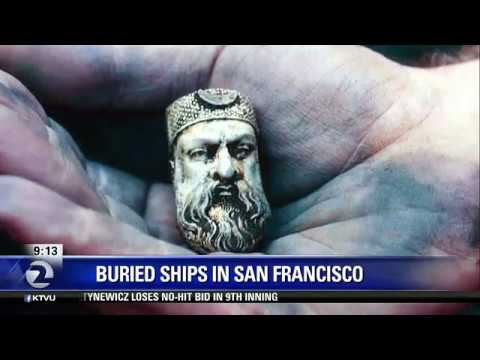 Over 50 ships buried beneath the streets of San Francisco