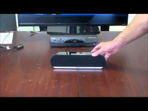 Jensen Wireless Stereo Speaker with TV Adapter Kit
