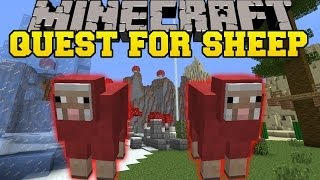 Minecraft: QUEST FOR SHEEP (PROTECT YOUR SHEEPS AT ALL COSTS!) Mini-Game