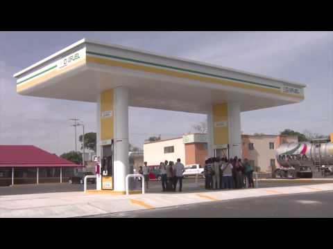Noticieros Televisa Veracruz - Gasolinera con etanol en Santa Fe