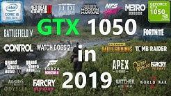 GTX 1050 Test in 25 Games in 2019