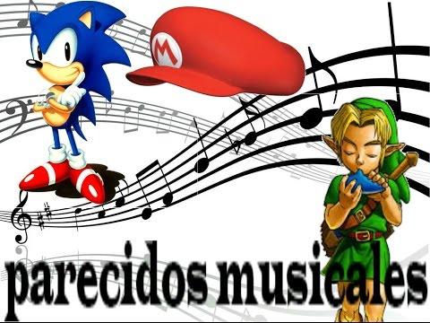Música similar en los videojuegos (coincidencia plagio o imitación)