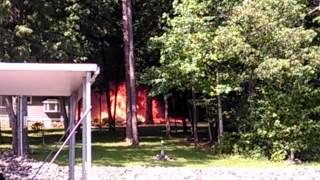 House Fire Clarksville, V.A.