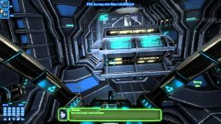 """Miner Wars 2081 - First mission gameplay """"EAC Survey Site"""""""