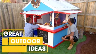 Adam and Jason's cubby house makeover | Great Home Ideas