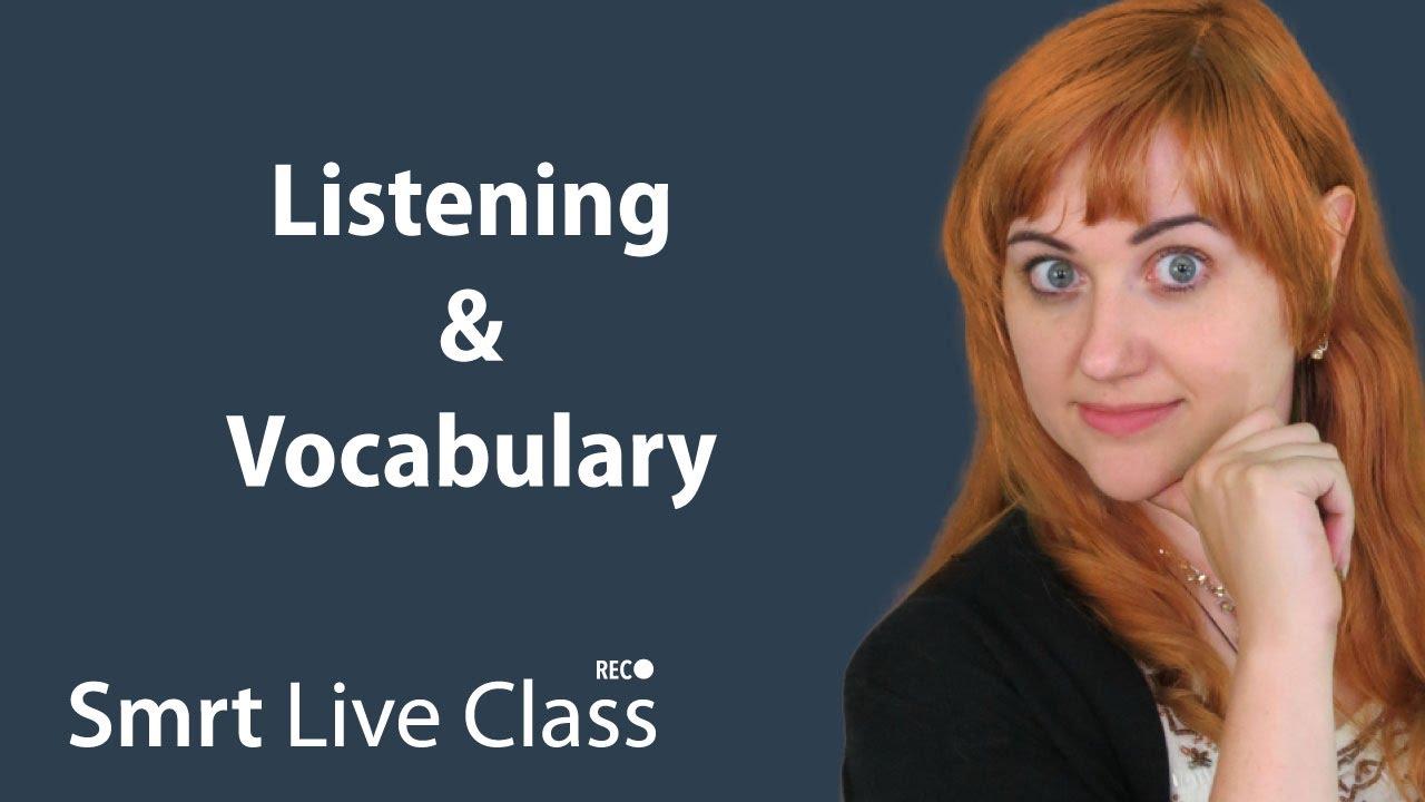 Listening & Vocabulary - Pre-Intermediate English with Nicole #16