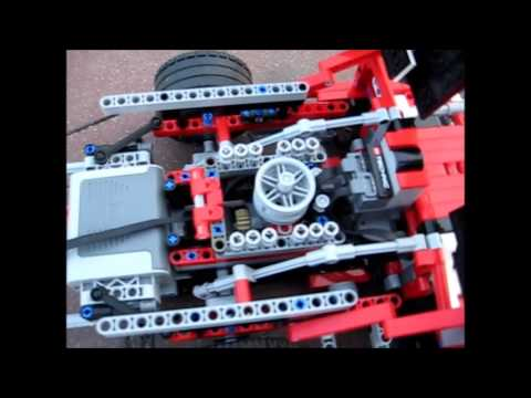 LEGO Porsche 917 with Power Functions - YouTube