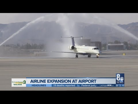 California Pacific Airlines touches down at McCarran as 4th airline added in month