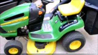 Winterize Your Riding Mower