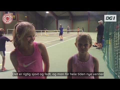 Skumtennis i tennishal