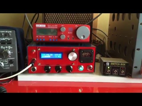 EFE-40, Elyapımı 40m SSB QRP kit from Turkey - YouTube