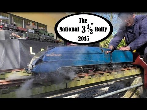 National 3 1/2 inch Gauge Rally at Leyland SME 2015