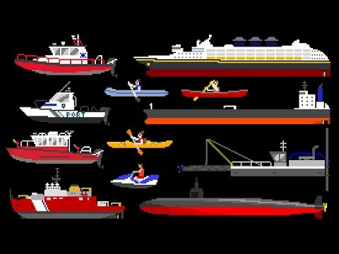 Water Vehicles 2 - Boats & Ships - The Kids' Picture Show (F