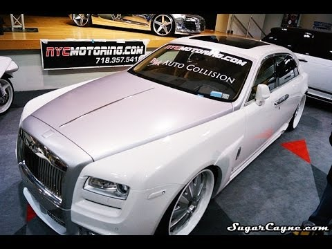 Custom Rolls Royce Ghost Body Kit Youtube
