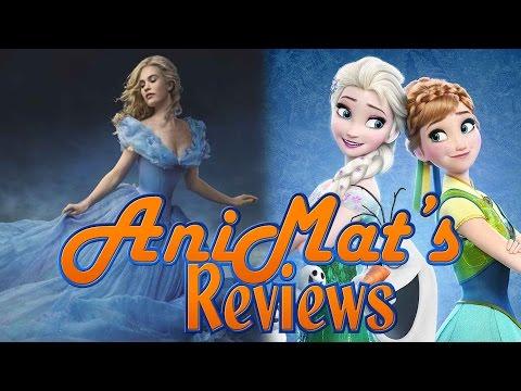 Cinderella + Frozen Fever - AniMat's Reviews