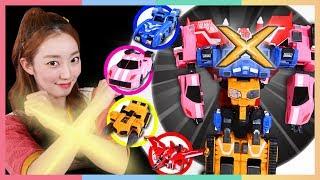四合一X战警机器人迷你特攻队 | 凯利和玩具朋友们 | 凯利TV