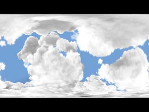360 VR Falling Clouds