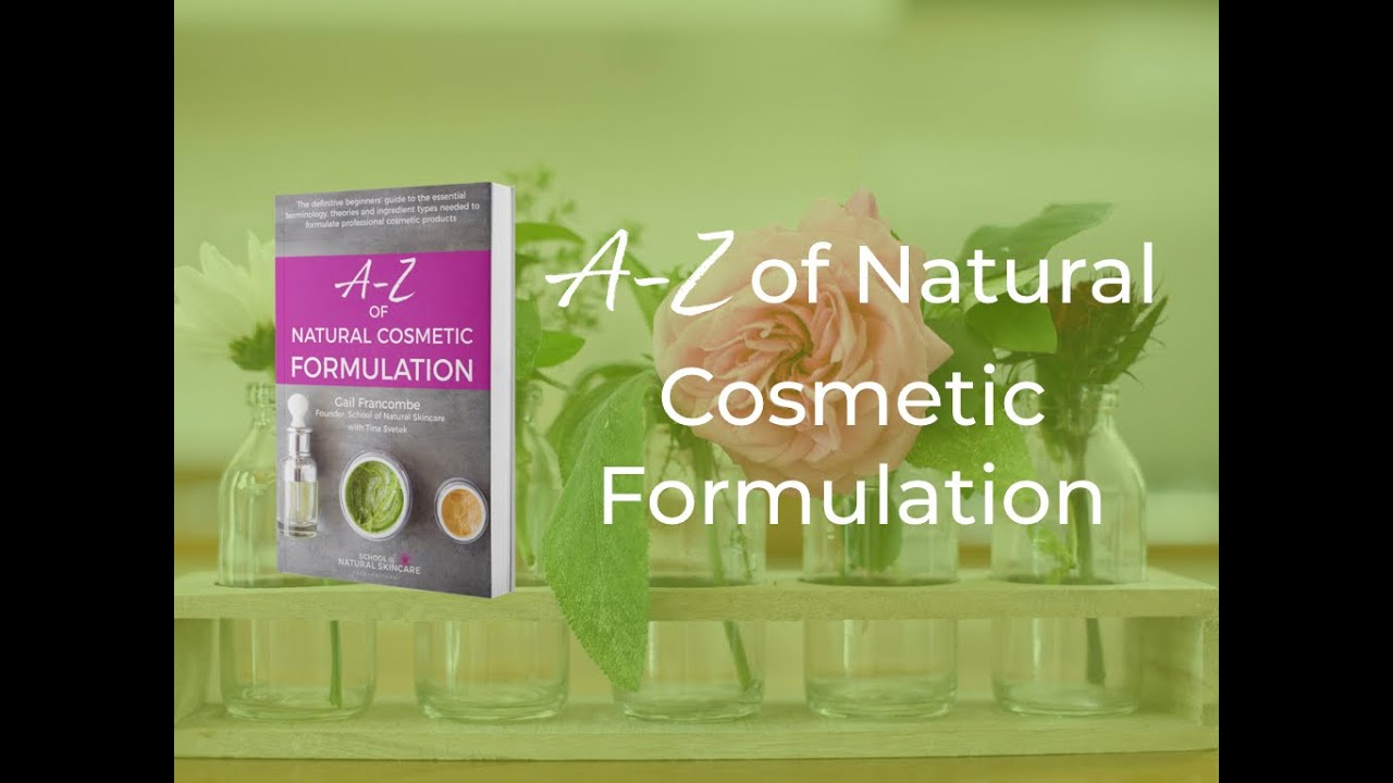 47e8847cc493 Discover our book: A-Z of Natural Cosmetic Formulation